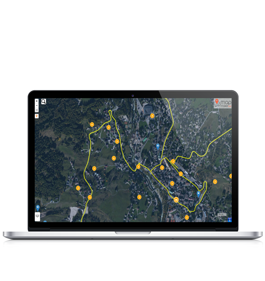 Map Maker Tool for notebook devices