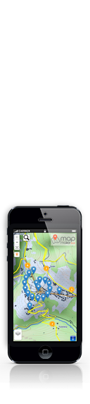 Map Maker Tool for smartphone devices
