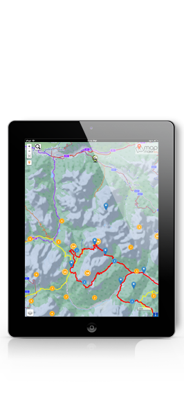 Map Maker Tool for tablet devices